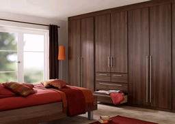 Fitted Bedrooms Dark wood