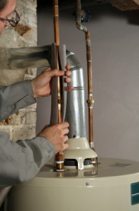 Unvented hot water system