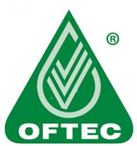 Our Oftec Logo which we proudly display showing that we are qualified to install & repair oil boilers