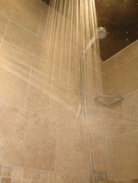 Shower and water jets