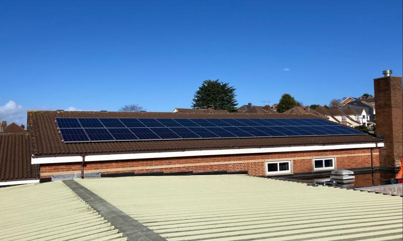 15kW Solar PV on Baptist Church Building in Bristol