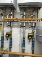 Commercial plant room