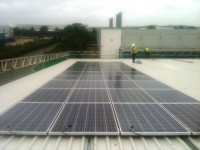 10.0 KWP - NEW BUILD - Factory Unit - Sept 13