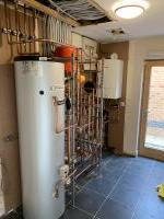 Full central heating system