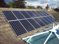 16x 250w Solar PV Modules - Linton herefordshire