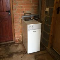 Worcester Bosch oil boiler installation in Newark