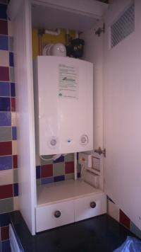 Boiler just fitted