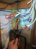 Central heating  S - Plan wiring  befor