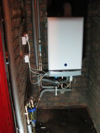 Conversion to Combi Boiler Installation