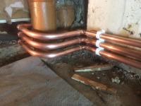 Boiler pipework