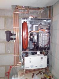 New Worcester Combi Installation