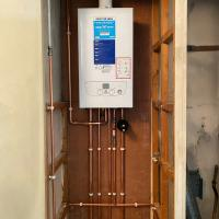 Baxi 624 installation with new gas pipe