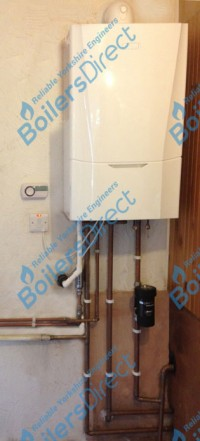 Ideal Vogue 40KW, Scale Reducer, Magnaclean Pro 2