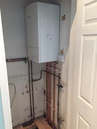 Worcester Bosch Combi install