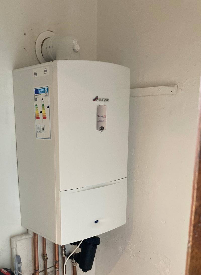 Worcester combi boiler