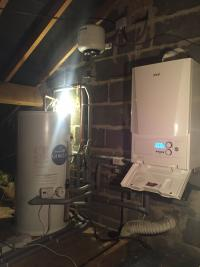Ideal Vogue and unvented cylinder