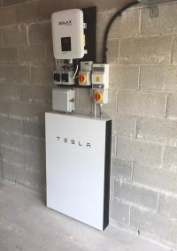 Tesla Powerwall 2 with Panasonic PV