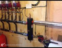 Low loss header on a heating installation in Worksop