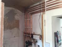 Boiler and pipe work