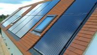 In Roof Solar Installation