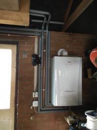 Boiler with 10 year guarantee
