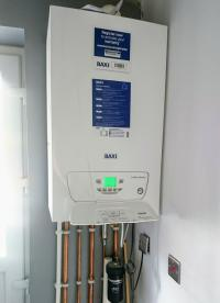 Old heat only system conversion