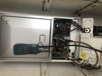 Boiler servicing.