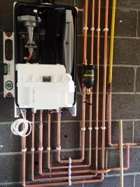 Ideal logic boiler installed in Hornsea