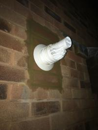 Patched up Flue