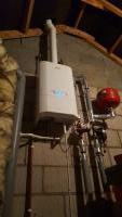 Boiler installation in loft