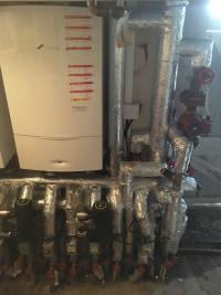 Boilers installations and pipe insulation