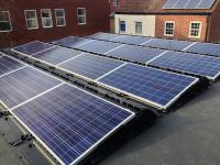 Flat roof array, 4.0 kW, Norwich.