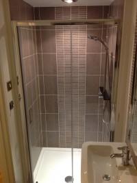 Downsatirs shower installation