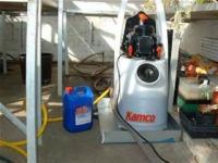 Power flush equipment