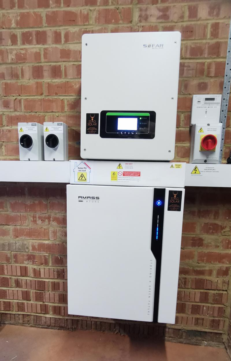 5kW solar and 4.8kWhr battery