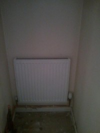 radiator in place of cylinder