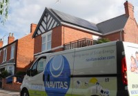 South east facing Solar PV installation to large detached home in Worksop, Nottinghamshire