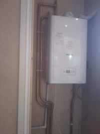 regular boiler installation