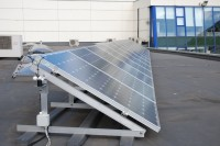 Solar PV Array (Flat Roof Mount)
