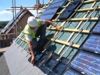 In Roof  - Solar PV Solution