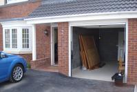 garage conversion before