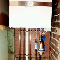 ATAG boiler installation