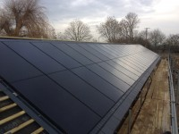 A 13kWp 'In Roof' system near Oxford
