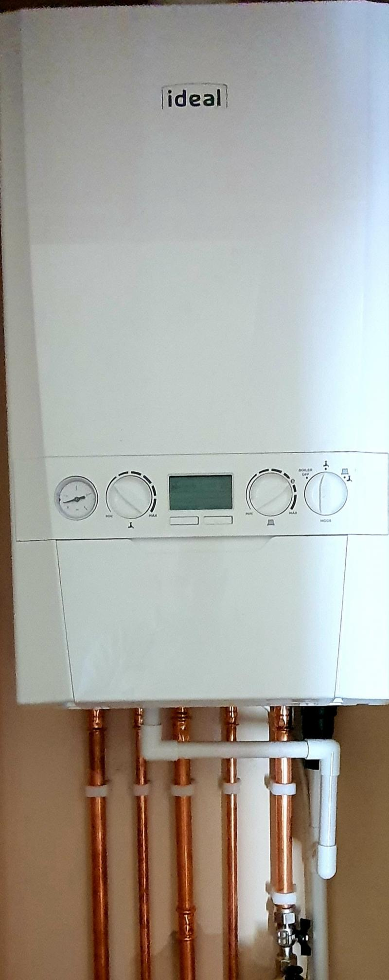 Full conversion from back boiler to combi
