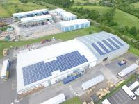 The Corrugated Case Company 100KW commercial business in Chesterfield