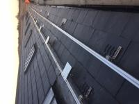 Optimizers on PV roof mountings installation