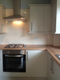 WE ALSO FIT KITCHENS & BATHROOMS