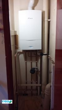 New Worcester Bosch gas combi boiler in Newark