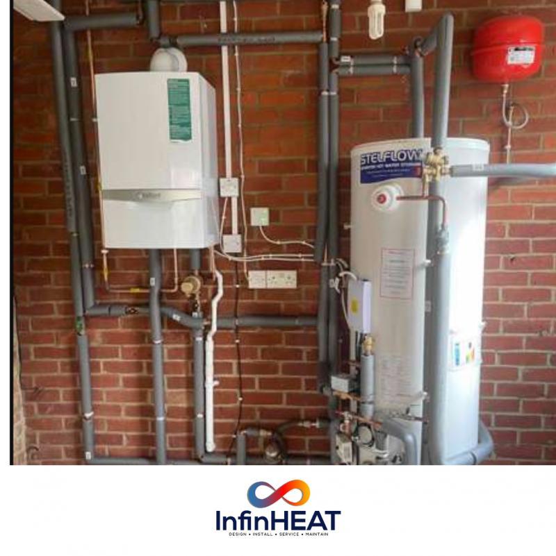 System boiler: