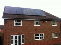 Domestic 4.0 Kwp Install -Leicestershire-Bushby